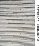 lined with stone white wall.... | Shutterstock . vector #309381818