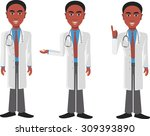 black doctor | Shutterstock .eps vector #309393890