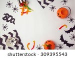 Halloween Holiday Background...