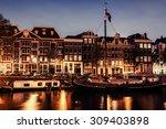 Beautiful Night In Amsterdam....