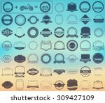 make your labels or logotypes... | Shutterstock .eps vector #309427109