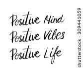 conceptual handwritten phrase... | Shutterstock .eps vector #309441059