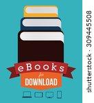 ebook digital design  vector...
