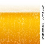 Vector Beer Foam Background...
