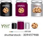 design packaging for chocolate...   Shutterstock .eps vector #309457988