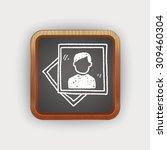 doodle photo   Shutterstock .eps vector #309460304