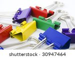collection of colored... | Shutterstock . vector #30947464