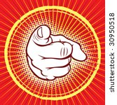 hand pointing   Shutterstock .eps vector #30950518