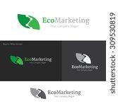 eco logo eco marketing...   Shutterstock .eps vector #309530819