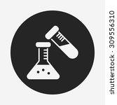 beaker icon   Shutterstock .eps vector #309556310