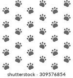 cat. pattern. vector...   Shutterstock .eps vector #309576854