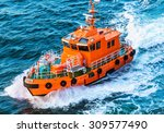 Orange Rescue Or Coast Guard...