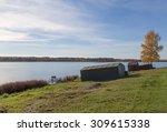 golden autumn tree latvia | Shutterstock . vector #309615338