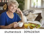 morning call to one of my...   Shutterstock . vector #309626564