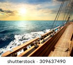 Sailboat In Red Sea At The...