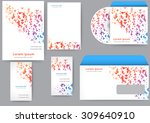 abstract creative corporate... | Shutterstock .eps vector #309640910