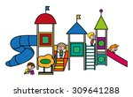illustration for children's... | Shutterstock .eps vector #309641288