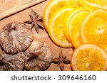 Dried Figs And Oranges With...