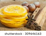 Dried Orange Slices With...