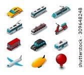 Public Transport Isometric...