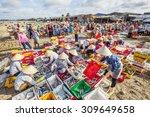 vung tau  vietnam   aug 23 2015 ... | Shutterstock . vector #309649658