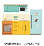 home appliances design  vector... | Shutterstock .eps vector #309660746