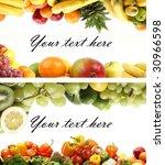 set of different bright tasty...   Shutterstock . vector #30966598