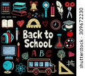 Back To School Hand Drawn Icons ...