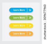 learn more  vector buttons set. | Shutterstock .eps vector #309677960