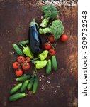 Vegetable Mix Of Garden Cherry...