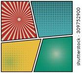 abstract creative concept... | Shutterstock .eps vector #309752900