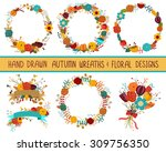 Autumn Fall Wreaths And Floral...