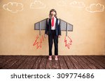 portrait of young businessman... | Shutterstock . vector #309774686