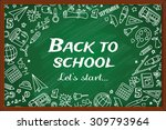 back to school. different... | Shutterstock .eps vector #309793964