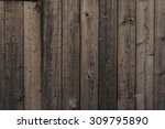 Old Dark Wooden Wall