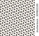 vector seamless pattern. modern ... | Shutterstock .eps vector #309802100