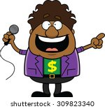 cartoon illustration of an... | Shutterstock .eps vector #309823340