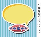 ufo theme elements   Shutterstock .eps vector #309825710