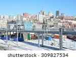 vladivostok  russia  january 06 ... | Shutterstock . vector #309827534