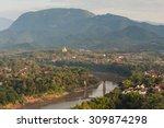 luangprabang town. | Shutterstock . vector #309874298