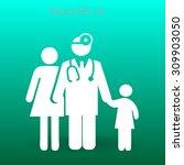family practice vector... | Shutterstock .eps vector #309903050