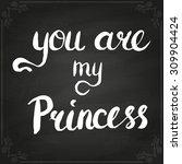 conceptual handwritten phrase... | Shutterstock .eps vector #309904424