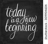 conceptual handwritten phrase... | Shutterstock .eps vector #309904604