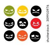 halloween vector | Shutterstock .eps vector #309910976