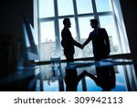 confident businessmen... | Shutterstock . vector #309942113