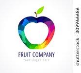 fruit company vector logo....