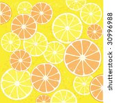 citrus background  with fine... | Shutterstock .eps vector #30996988