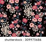abstract elegance seamless...   Shutterstock .eps vector #309975686