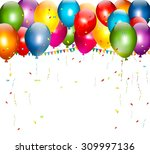 happy labor day background with ...   Shutterstock .eps vector #309997136
