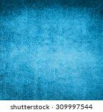 blue grunge background | Shutterstock . vector #309997544